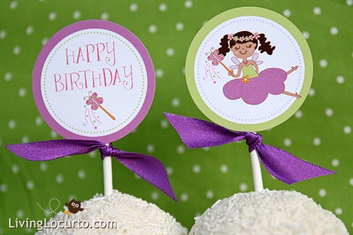 Fairy Princess Birthday Party Printable Supplies