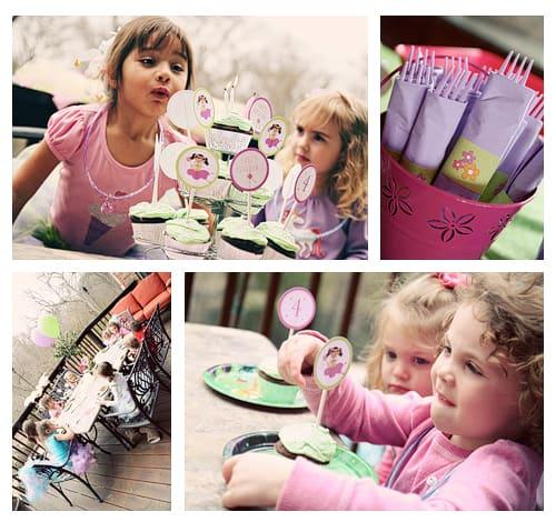 Fairy Princess Birthday Party Printable Supplies