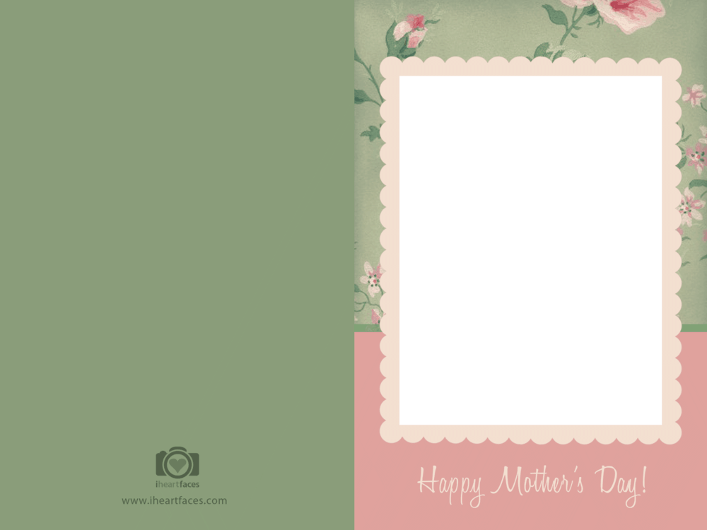 Mothers Day Card Templates Boatjeremyeatonco - Mothers day card templates