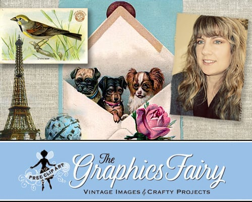 Interview with Karen from The Graphics Fairy