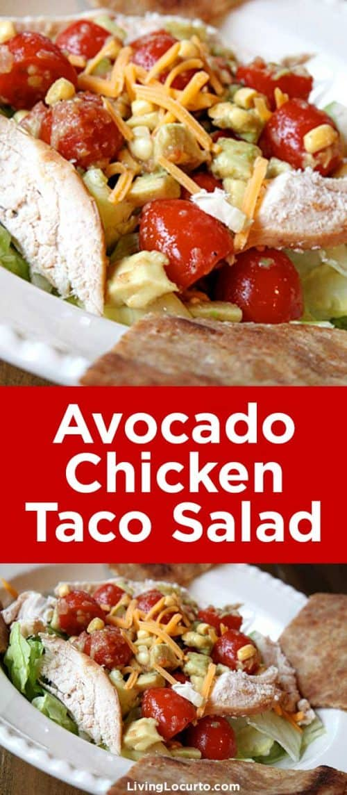 Avocado-Chicken-Taco-Salad-Recipe