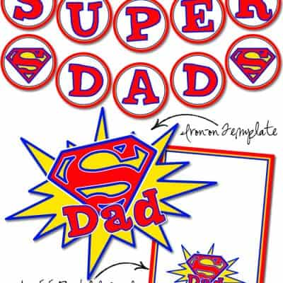 Super Dad Free Printables