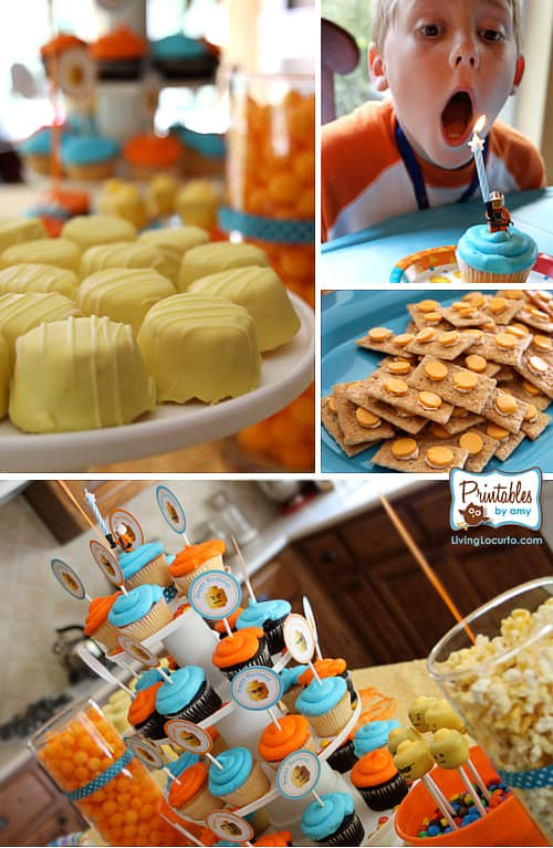 Download this Lego Party Food picture