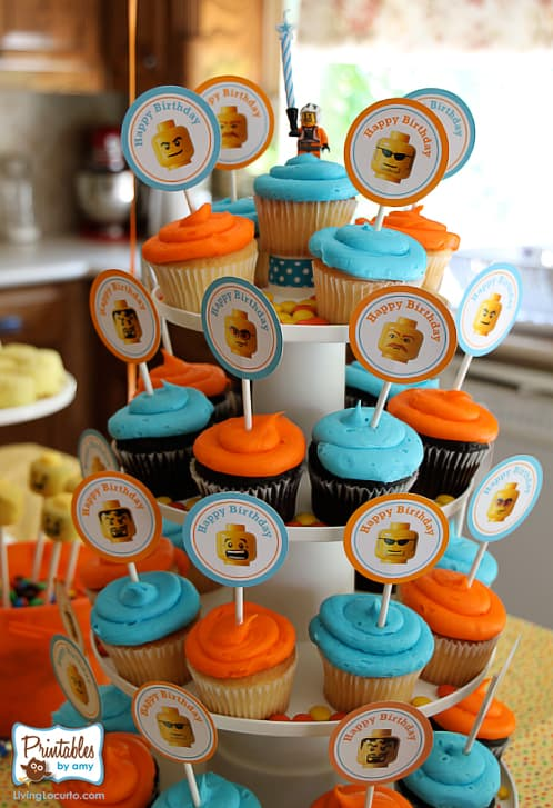Lego Birthday Party Printables and Ideas