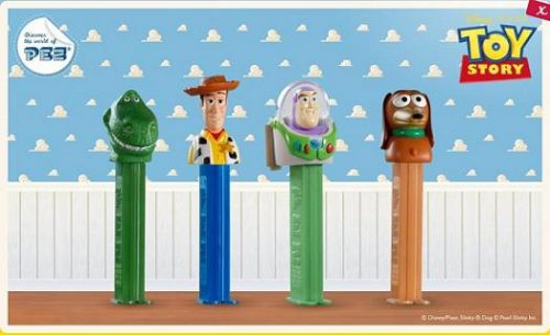 Pez Candy Toy Story Party Favors