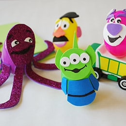 free toy story party crafts