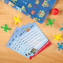 free toy story party invitation