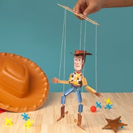 toy story woody marionette printable