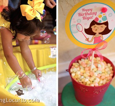Bubble Birthday Party Ideas