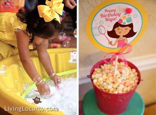 Bubble Birthday Party Ideas By Amy Locurto At LivingLocurto