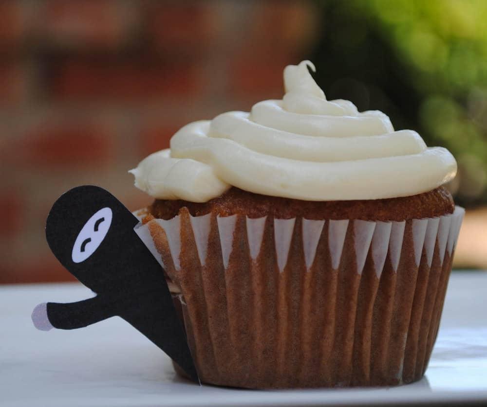 Free Printable Cupcake Ninjas
