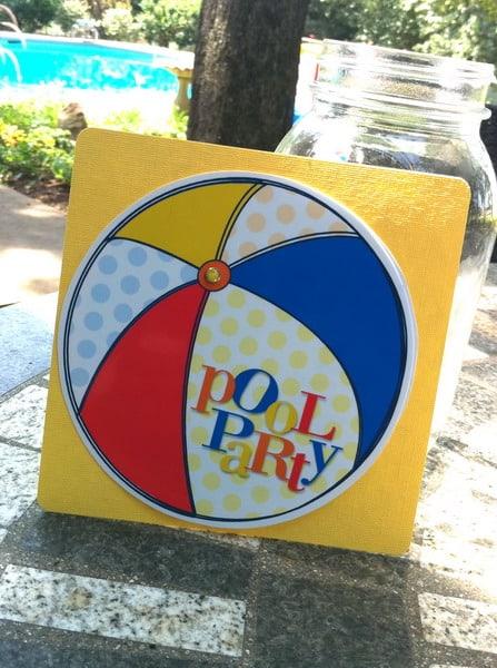 Free Printable Pool Party Invitation – Free Printable Pool Party Invitation