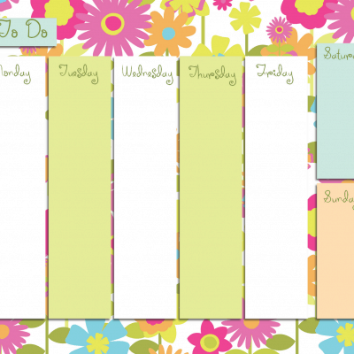 Busy Week To-Do Free Printable