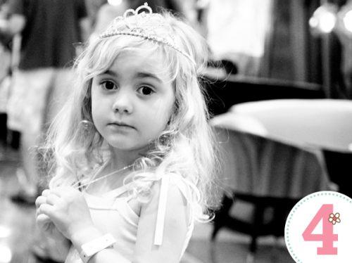 4th Girl Party - Pink Princess Birthday Party Printables LivingLocurto.com