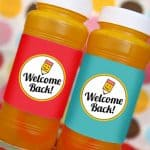 Back to School Free Printable Bubble Labels for Teachers
