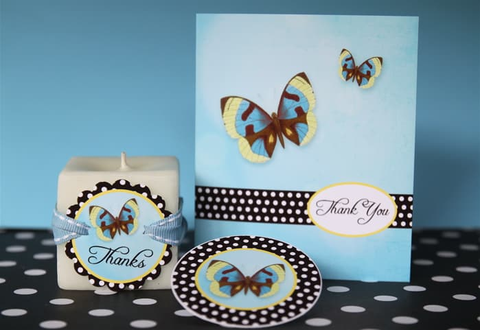 free printable butterfly thank you card tags living locurto