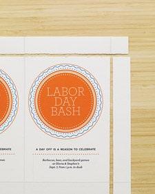 Free Printable Labor Day Invites