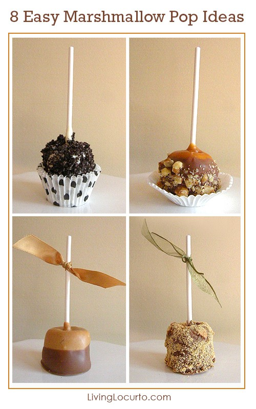 8 Easy Ways to Decorate a Marshmallow Pop
