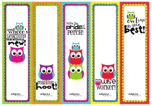 school bus bookmark templates