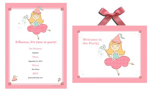Princess Birthday Party Printables LivingLocurto.com