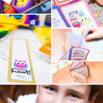 Free Back to School Owl Printables
