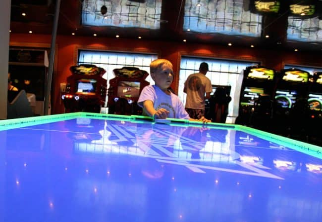 Tips for a Cruise Vacation with Young Kids. Games on Carnival Cruise Ship. Travel blogger review of Carnival.