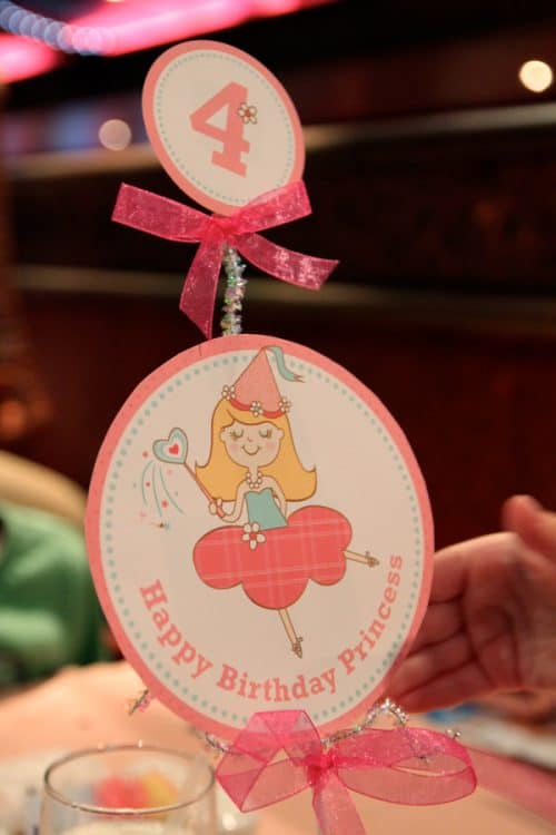 Pink Princess Birthday Party Printables LivingLocurto.com