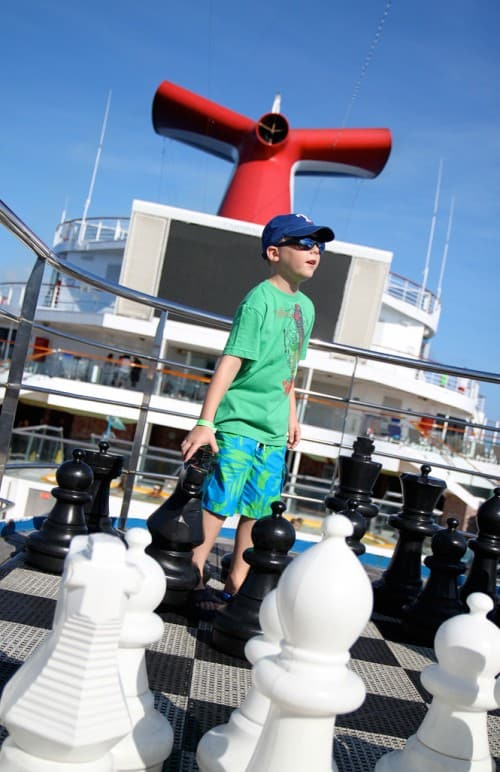 Tips for a Cruise Vacation with Young Kids. Travel blogger review of Carnival.