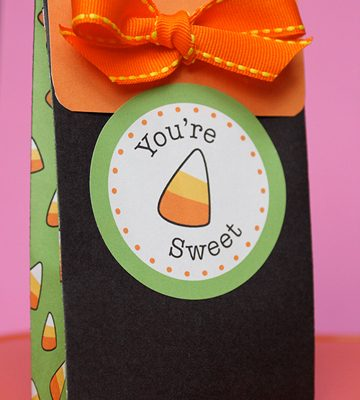 Halloween Candy Advent Calendar Kit Giveaway