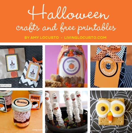 Halloween Party and Craft Ideas | Free Party Printables by LivingLocurto.com