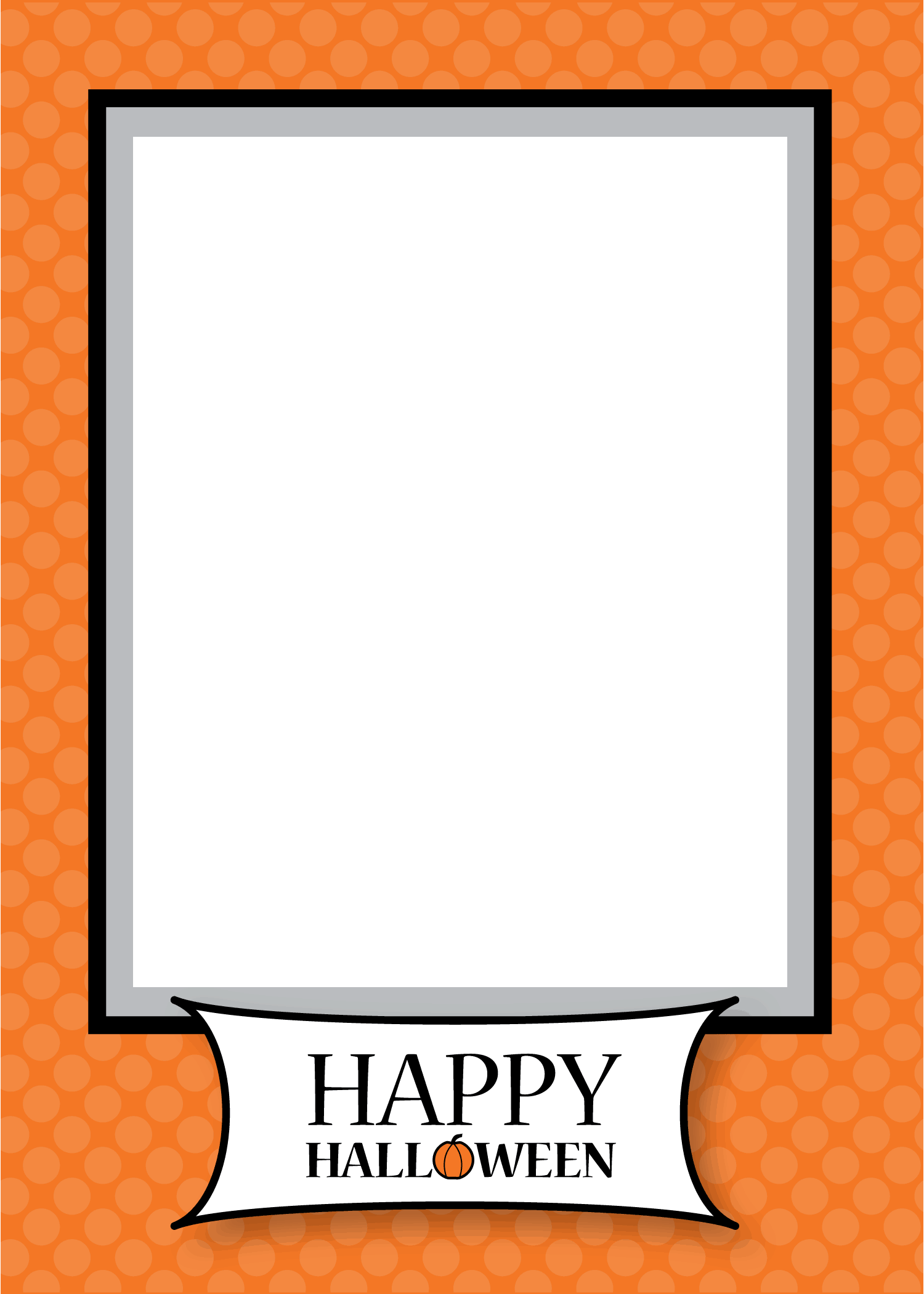 Free Halloween 5x7 Card Template - Living Locurto