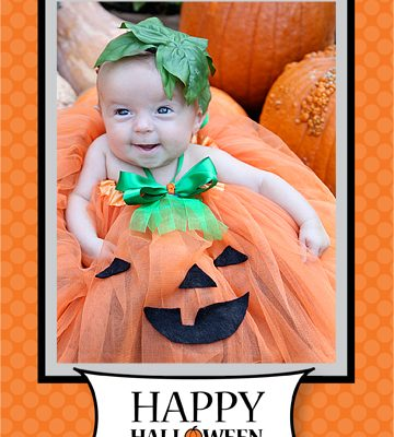 Free Halloween 5×7 Card Template