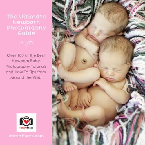 Over 100 of the best FREE Newborn Photography Tips & Tutorials around the web!