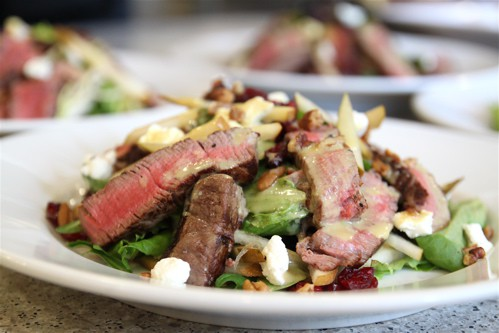 Beef Tenderloin Steak Salad Recipe