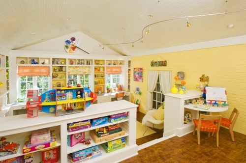 Amazing Kids Craft Room - House Tour - design by Margaret Norcott