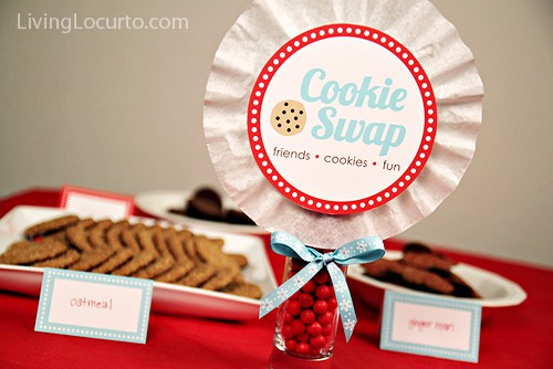 Cookie Swap Party Printable Collection by LivingLocurto.com