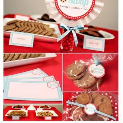 Cookie Swap Party | Cookie Exchange Christmas Printables