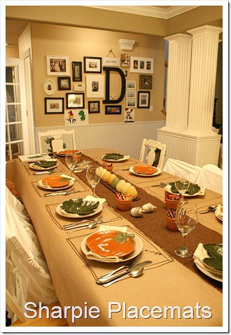 sc 1 st  Living Locurto & Easy Thanksgiving Table Setting Ideas