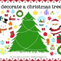 Activities For Kids – Christmas Printables