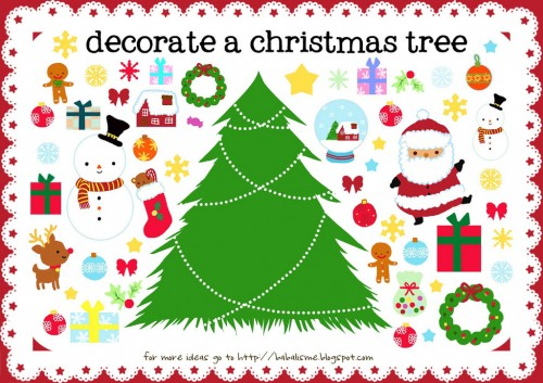Activities For Kids - Christmas Printables
