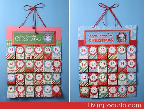 Christmas Printables - Free Printable Christmas Advent Calendars