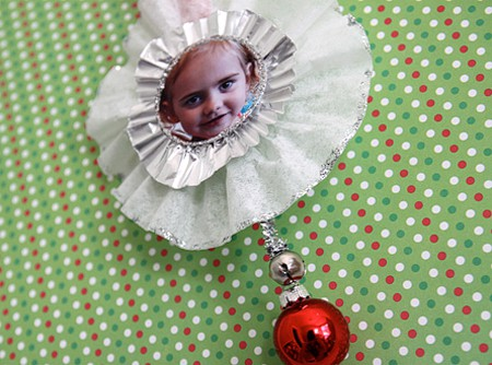DIY Photo Christmas Ornament Craft