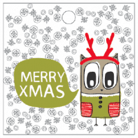 Free Printable Owl Christmas Tags