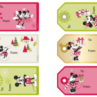 Free Printable Disney Christmas Tags