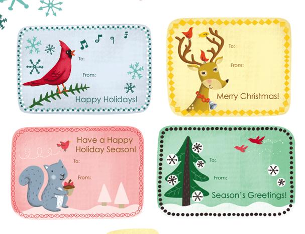 12 Free Printable Christmas Gift Tags – Free Printable Christmas Gift Certificate