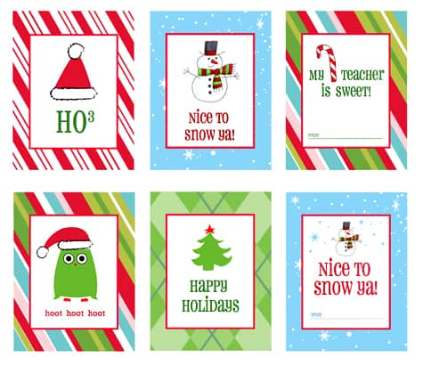 FREE Christmas Printable Gift Tags.