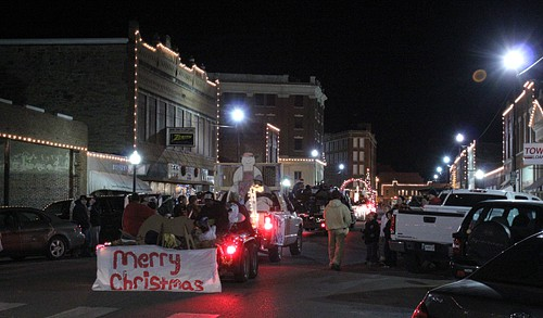 Cookie Party with Ree The Pioneer Woman - Living Locurto - Pawhuska Christmas Parade