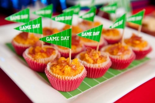 Super Bowl Football Party Ideas with Printables
