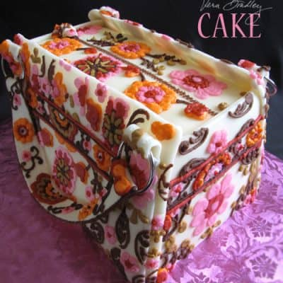 Vera Bradley Purse Cake