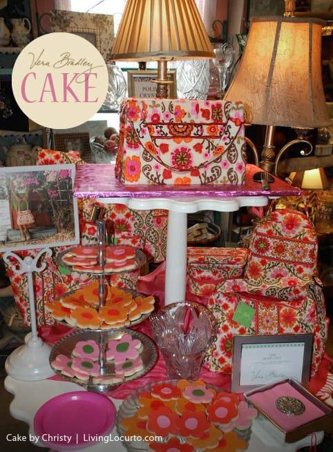 Vera Bradley Handbag Cake